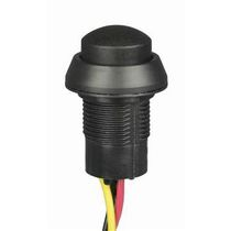 Spring push-button switch / SPDT / industrial / thermoplastic