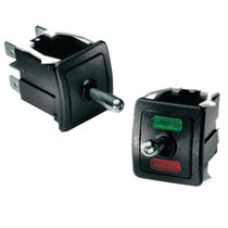Toggle switch / 2-pole / control / industrial