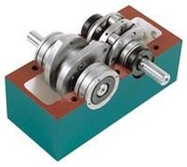Oscillating indexer / parallel-shaft / for heavy loads