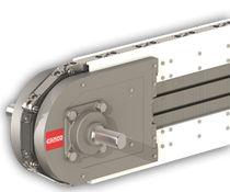Horizontal conveyor / accuracy indexing / link
