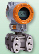 Differential pressure transmitter / membrane / analog / with display