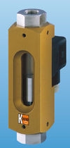 Variable-area flow meter / for air / in-line / for low flow rates