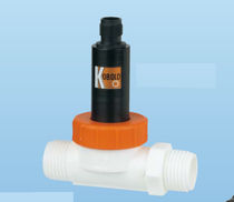 Vane flow meter / for liquids / in metering tube