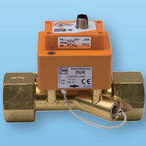 Ultrasonic flow meter / for liquids / in-line