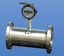 Turbine flow meter / for fuel / with counting function / in-line