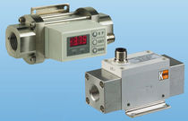 Thermal flow switch / for gas / in-line