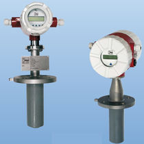Electromagnetic flow meter / for liquids / insertion
