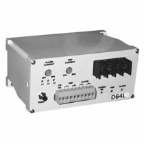 Three-phase monitoring relay / digital / panel-mount / AC