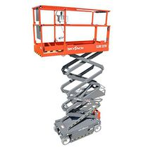 mobile scissor lift electric sjiii skyjack mobile scissor lift electric