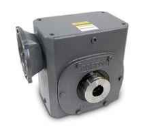 Worm gear reducer / orthogonal / modular / industrial