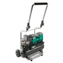 Air compressor / mobile / piston / oil-free