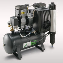 Air compressor / piston / oil-free / stationary