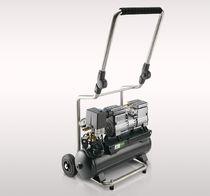 Air compressor / piston / oil-free / mobile