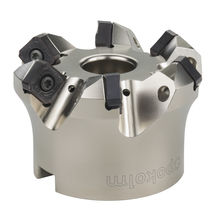 Shell-end milling cutter / face / for cast iron / for steel