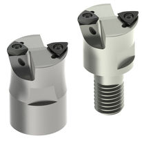 Shell-end milling cutter / indexable insert / face / finishing