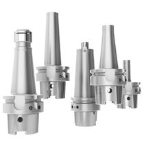 HSK end mill holder / Morse taper / high-precision / monobloc