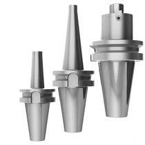 BT end mill holder / Morse taper / high-precision / monobloc