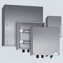 Wall-mounted terminal box / IP66 / stainless steel