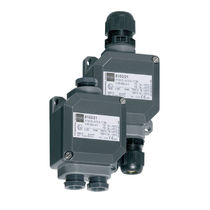 Surface mounted junction box / robust / explosion-proof / IP66