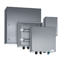 Wall-mounted terminal box / explosion-proof / IP66 / stainless steel