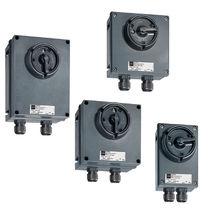 Selector knob switch / multipole / latching / electromechanical