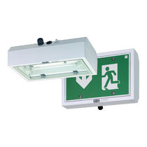 Surface-mounted emergency lighting / fluorescent tube / explosion-proof