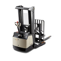Electric stacker truck / walk-behind / for pallets / order-picking