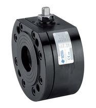 Floating ball valve / lever / regulating / for steam
