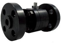 Floating ball valve / lever / petroleum / carbon steel
