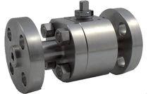 Floating ball valve / lever / petroleum / flange