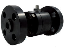 Floating ball valve / lever / petroleum / carbon steel
