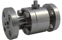 Floating ball valve / lever / control / petroleum