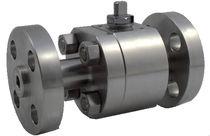 Floating ball valve / lever / control / petroleum