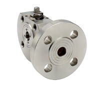 Ball valve / petroleum / for water / flange