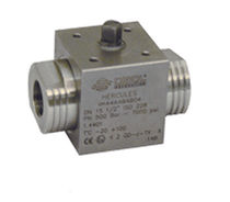 Ball valve / lever / petroleum / stainless steel