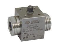 Ball valve / lever / petroleum / stainless steel