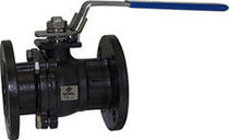 Floating ball valve / manual / for water / carbon steel