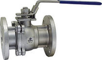 Floating ball valve / manual / for water / stainless steel