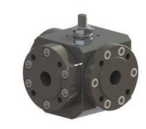 Floating ball valve / lever / for water / carbon steel