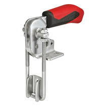 Vertical toggle clamp / hook