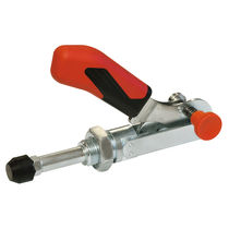 Latch type toggle clamp / push-pull