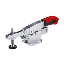 Horizontal toggle clamp / ergonomic / variable