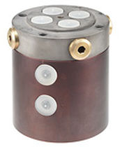 Multi-passage rotary union / high-pressure / cast iron