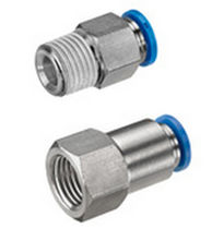 Pneumatic instant coupling