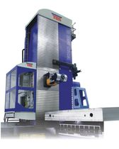 CNC boring mill / horizontal / 4-axis / column type