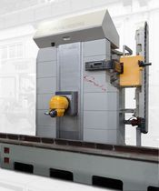 CNC boring mill / horizontal / multi-axis / column type