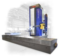 CNC boring mill / horizontal / 6-axis