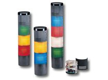 LED stack light / explosion-proof / modular / with audio signal