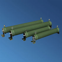 Wire-wound resistor / ceramic-housed / housed / LV