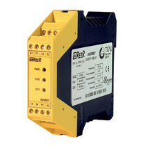 Safety relay / 2 NO / 1 NC / DIN rail